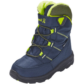 Kamik Stance Shoes Child navy lime-marine citron vert